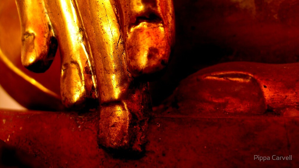Hands of Buddha by Pippa Carvell