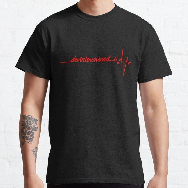 Devin Townsend heartbeat heart beat design.  Classic T-Shirt