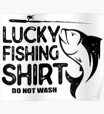 Fisherman Funny Quote Poster