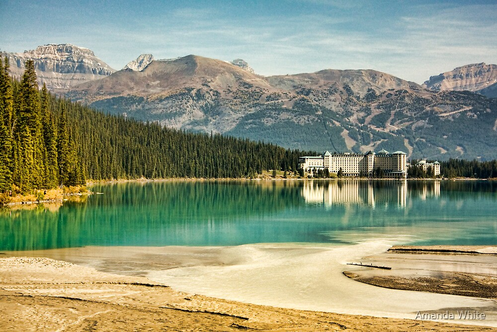 The Fairmont Chateau, Lake Louise by Amanda White