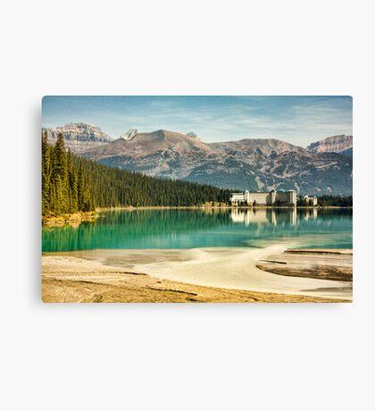 The Fairmont Chateau, Lake Louise Canvas Print