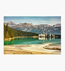 The Fairmont Chateau, Lake Louise Photographic Print