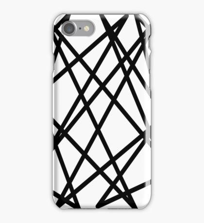 Black lines iPhone Case/Skin
