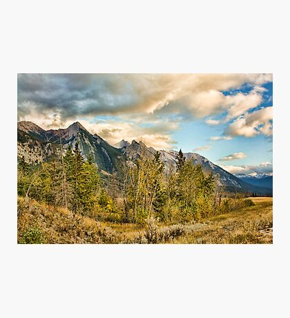 The Icefield Parkway Photographic Print