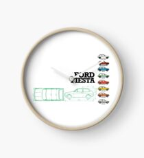 FORD FIESTA Clock