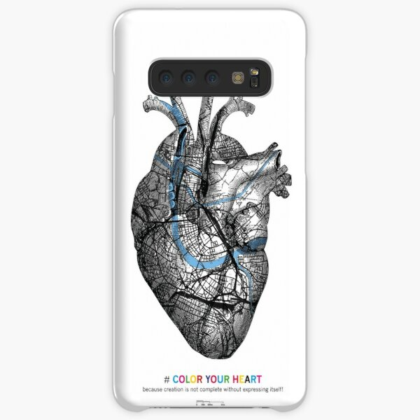 #COLOR YOUR HEART | Basel Citymap Artwork Samsung Galaxy Leichte Hülle
