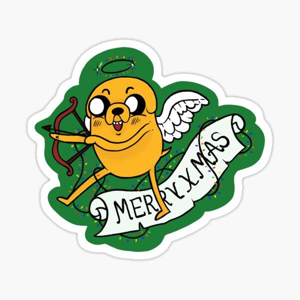 Oh, Christmas Jake! Sticker