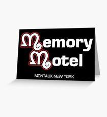 Memory Motel Greeting Card