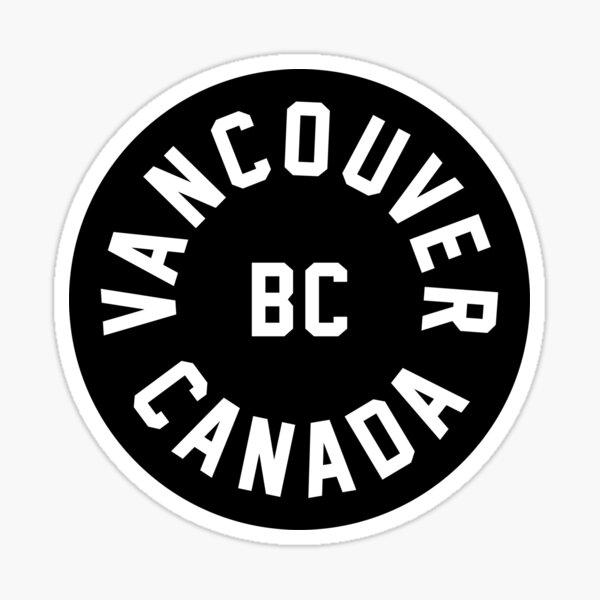 Vancouver - British Columbia - Canada Sticker