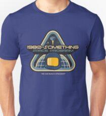 1980-Something Space Program Slim Fit T-Shirt