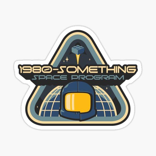 1980-Something Space Program Sticker