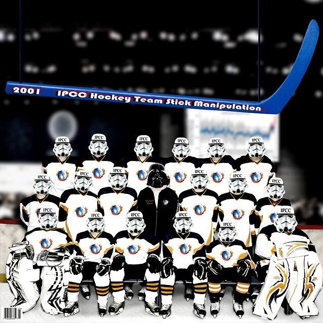 IPCC hockey stick manipulation by Poderiu ^