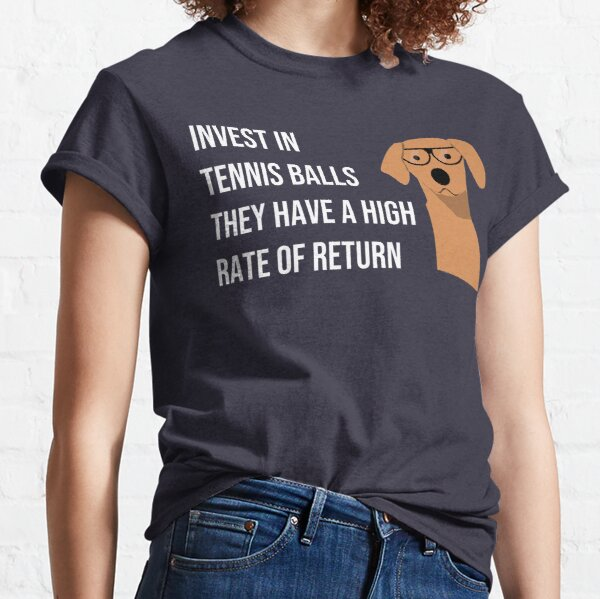 Funny Dog Accountant Financial Advisor Finance Teacher  Classic T-Shirt
