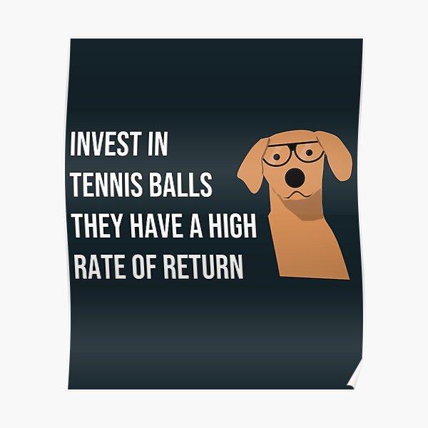 Funny Dog Accountant Financial Advisor Finance Teacher  Poster
