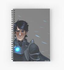 Dark Champion Spiral Notebook