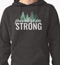 Paradise Strong Feminine Design Pullover Hoodie