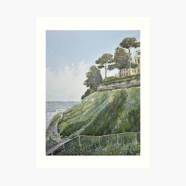 Rock walk, Torquay Art Print