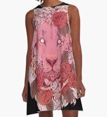 Lion of Roses A-Line Dress
