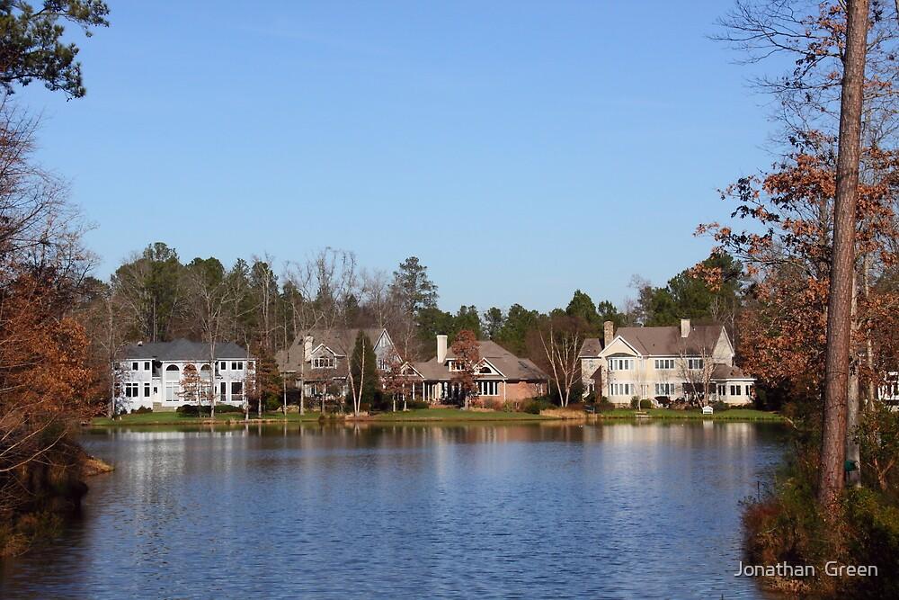 Homes On The Lake North Carolina by Jonathan  Green
