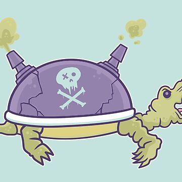Toxic Turtle by strangethingsA