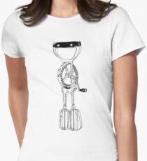 egg beater Women's Fitted T-Shirt