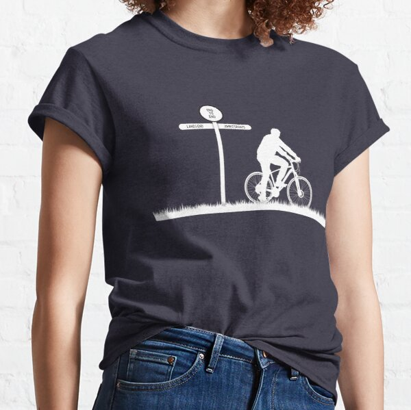 Land's End to John O'Groats Cycle Challenge Classic T-Shirt