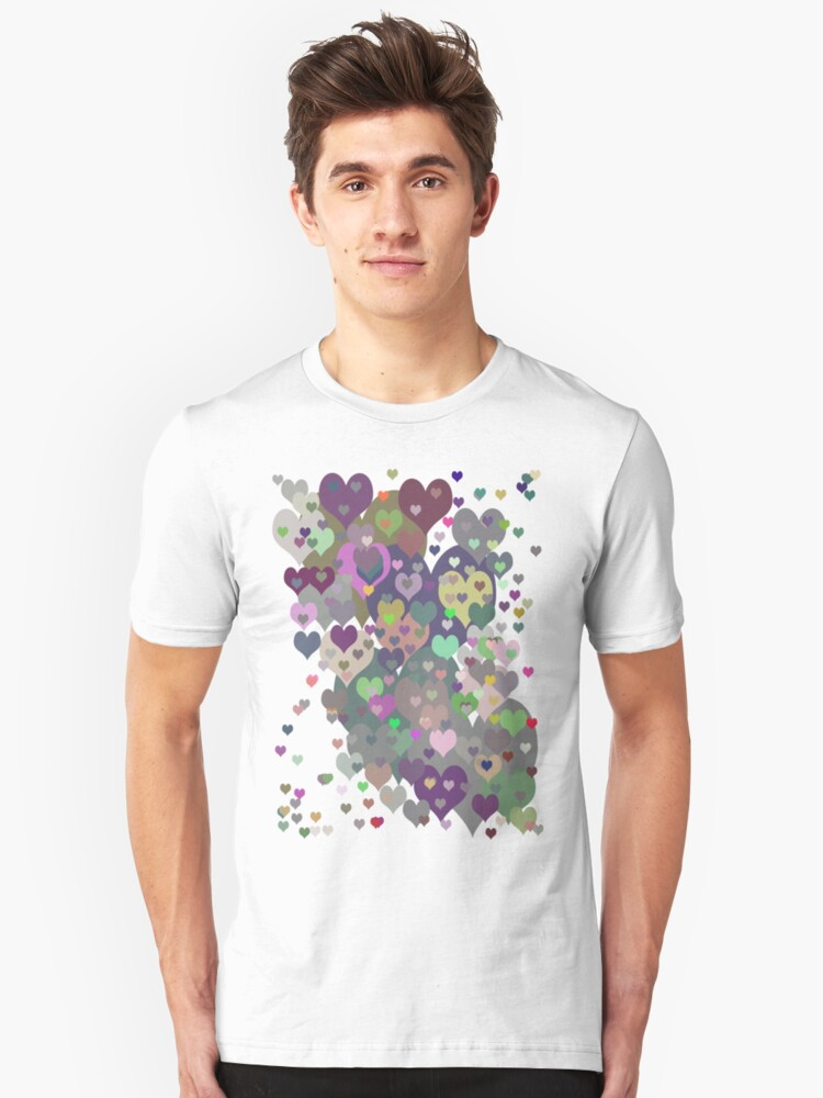 Too Many Hearts T-Shirt Unisex T-Shirt Front
