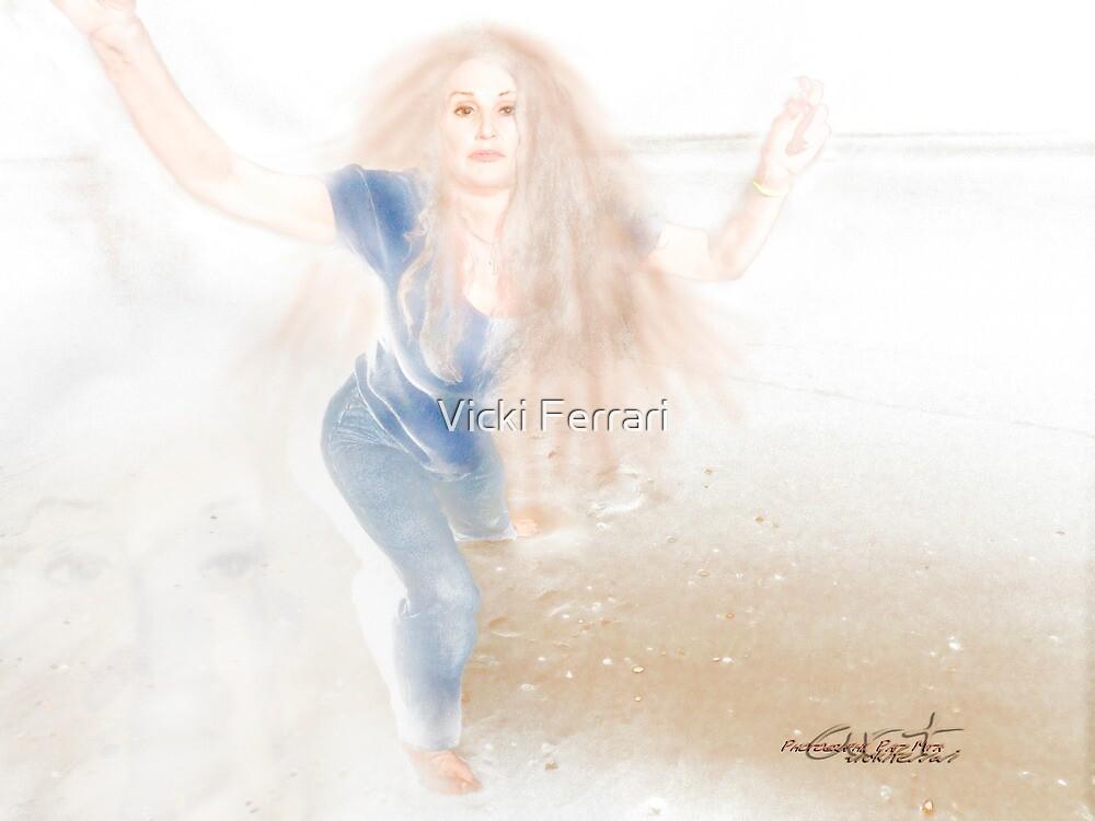 She by the Sea © by Vicki Ferrari