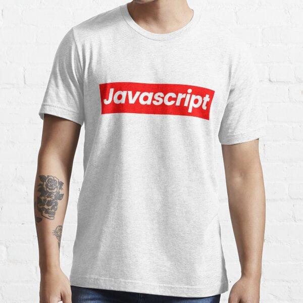 Javascript Camiseta esencial