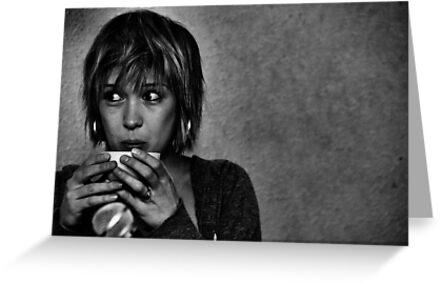 Lady Kaye Drinks Tea by Hushabye Lifestyles