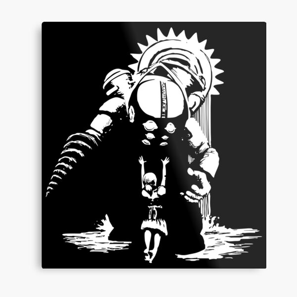 BioShock Metal Print