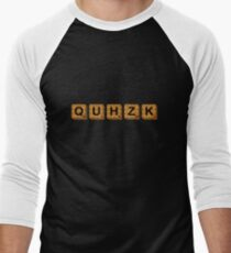 Quhzk Men's Baseball ¾ T-Shirt