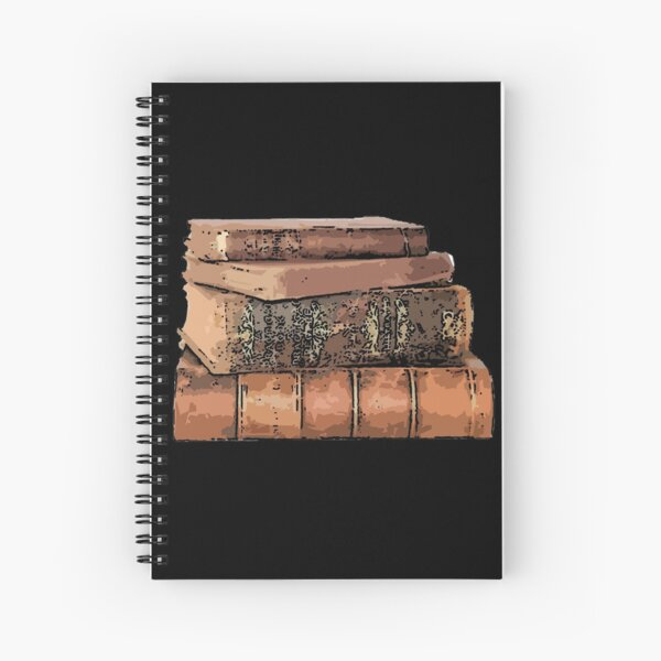 Stack of Books 7 Spiral Notebook