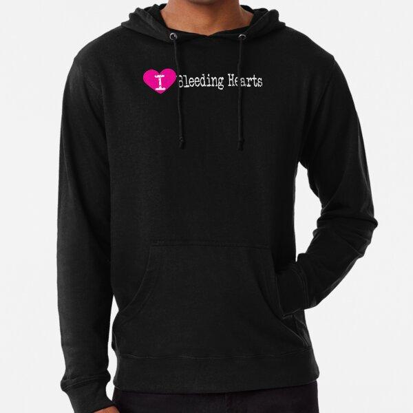 I Heart Bleeding Hearts   Love Bleeding Hearts - Dicentra Lightweight Hoodie