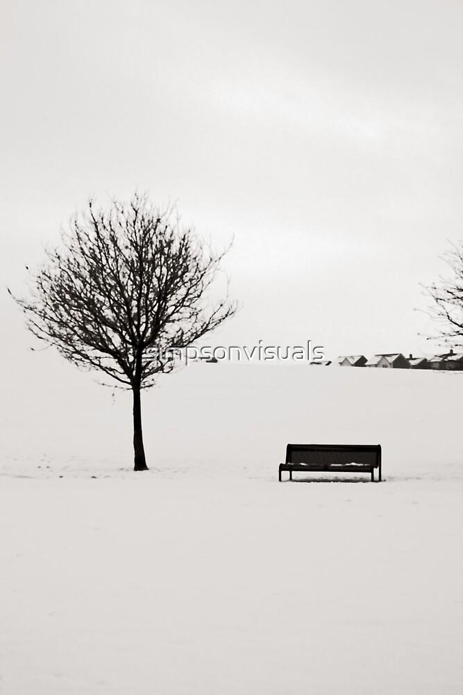 Urban Winter - Hogganfield Loch, Glasgow, Scotland, UK by simpsonvisuals