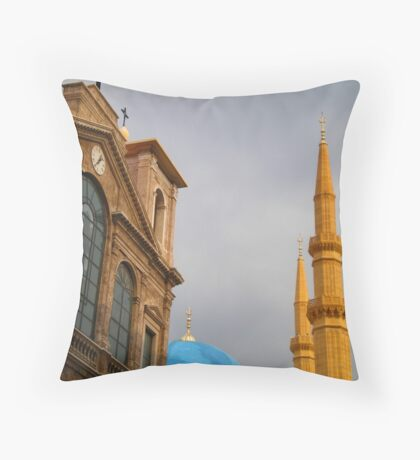 Side + by Side ( Throw Pillow