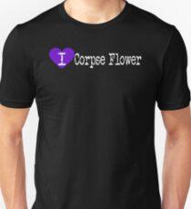 I Heart Corpse Flower | Love Corpse Flower Unisex T-Shirt