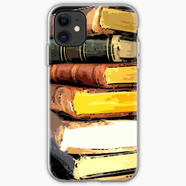 Stack of Books 9 iPhone Soft Case