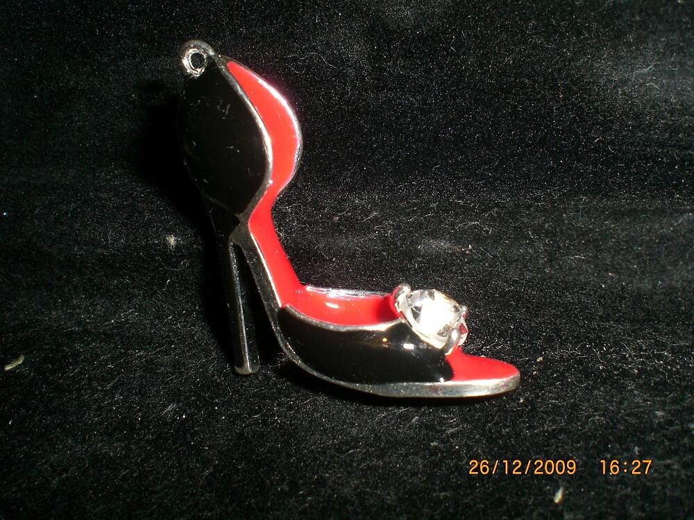 Lovely high heel shoe by Jadavision