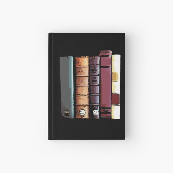 Stack of Books 2 Hardcover Journal