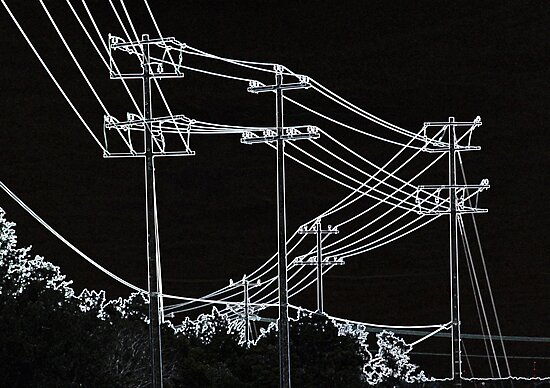 ELECTRICITY #3 by LauraBroussard