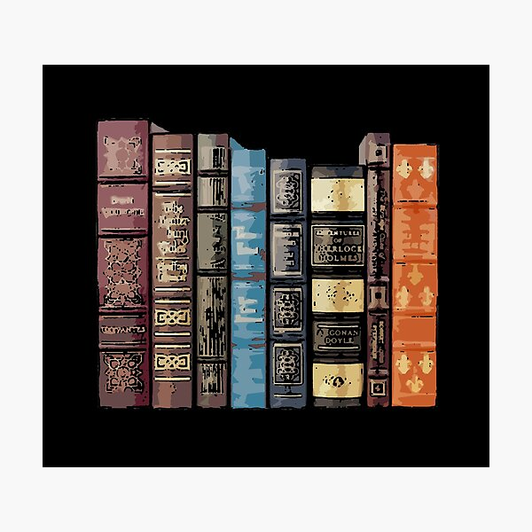 Stack of Books 16 Photographic Print