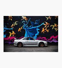 Lámina fotográfica GTR Art Wall