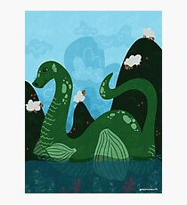Loch Ness' Nessie Photographic Print