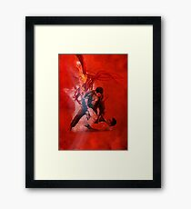 Jiu Jitsu pass Framed Print
