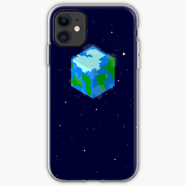 Minecraft Cube World iPhone Soft Case
