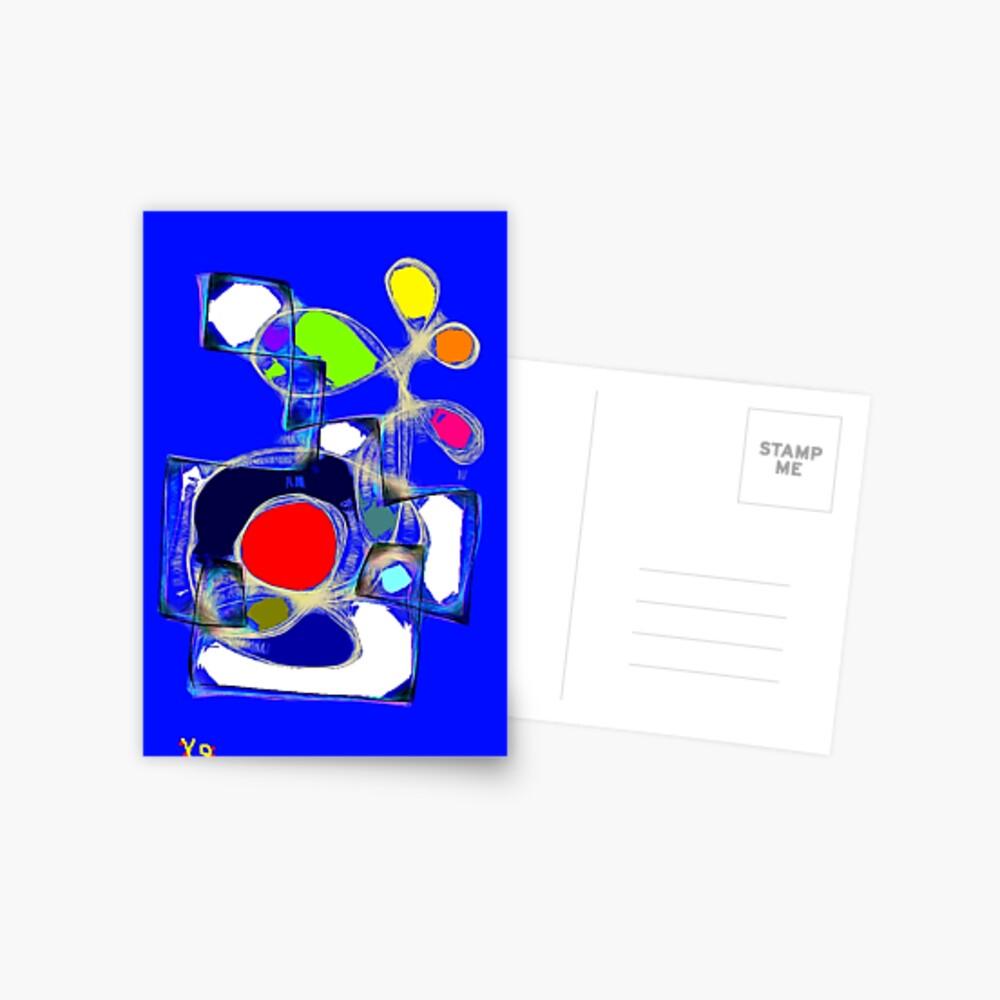 """""""Simple Membrane"""" by Richard F. Yates Postcard"""