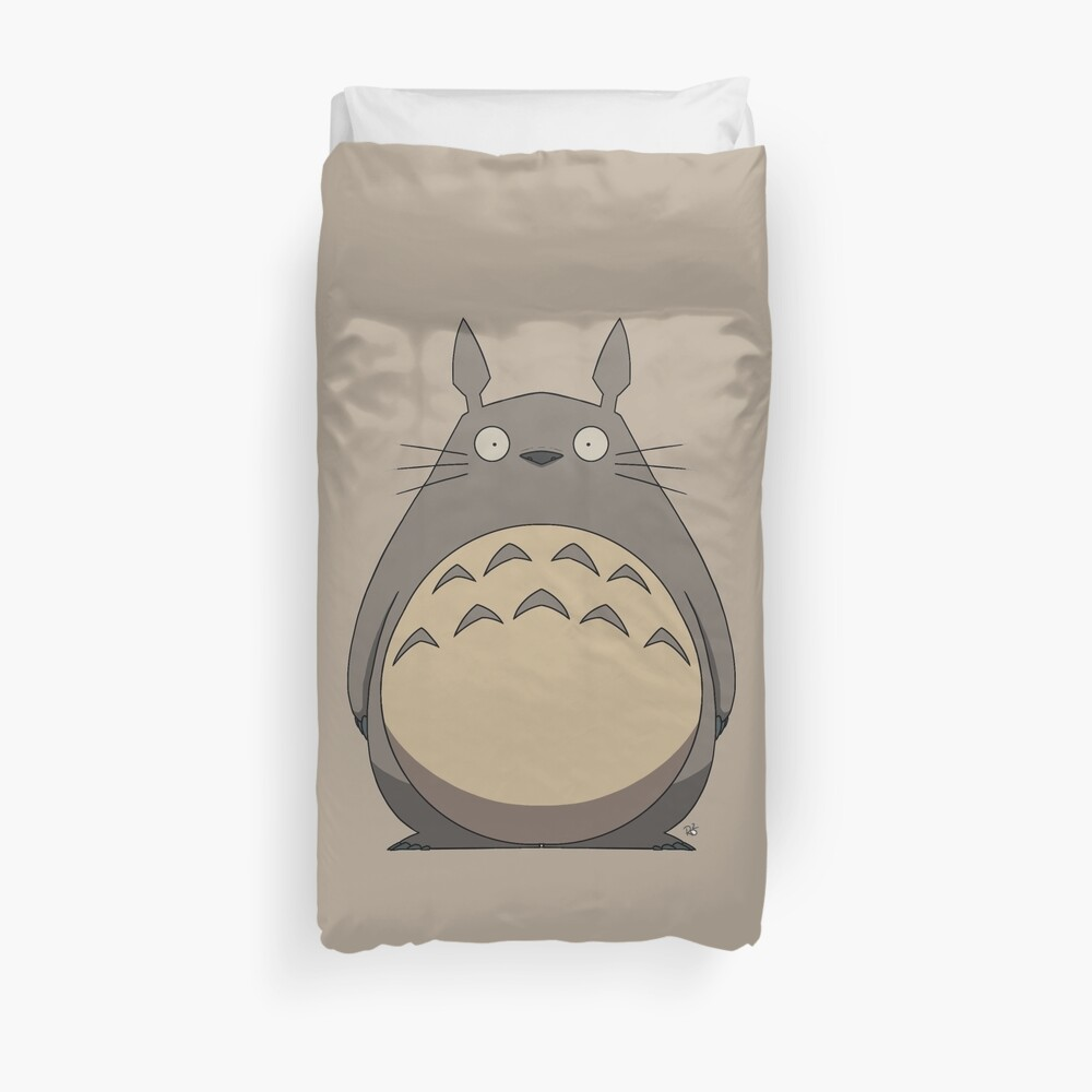 Totoro Duvet Cover