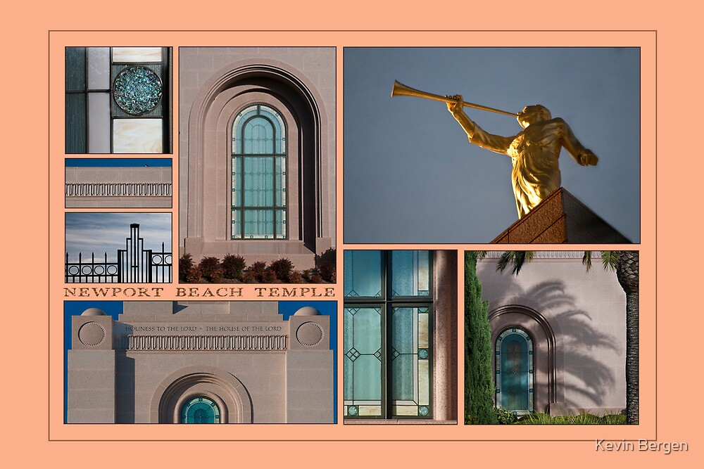 Newport Collage by Kevin Bergen