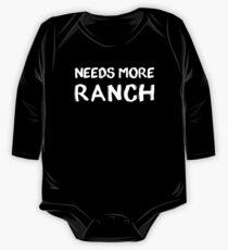 Braucht mehr Ranch Baby Body Langarm